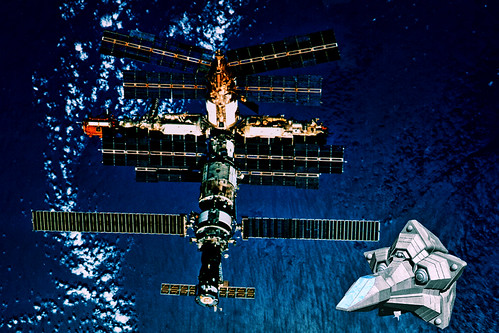 Mir Space Station photo