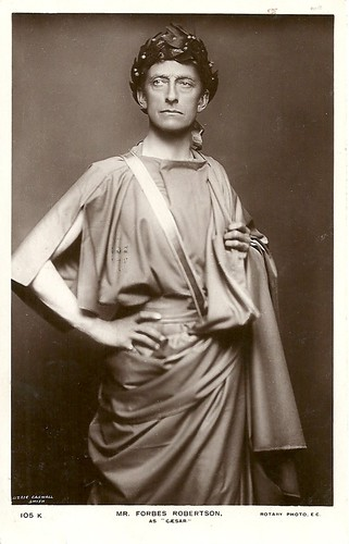 Forbes-Robertson as Caesar in Caesar and Cleopatra