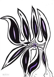 LG draw N°64 - Flower 3 #lg #lgdraw #draw #draws #drawing #dream #dreaming #lifestyle #art #artwork #pen #pencil #flower #flowers #imagination #love