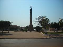 Bissau main square