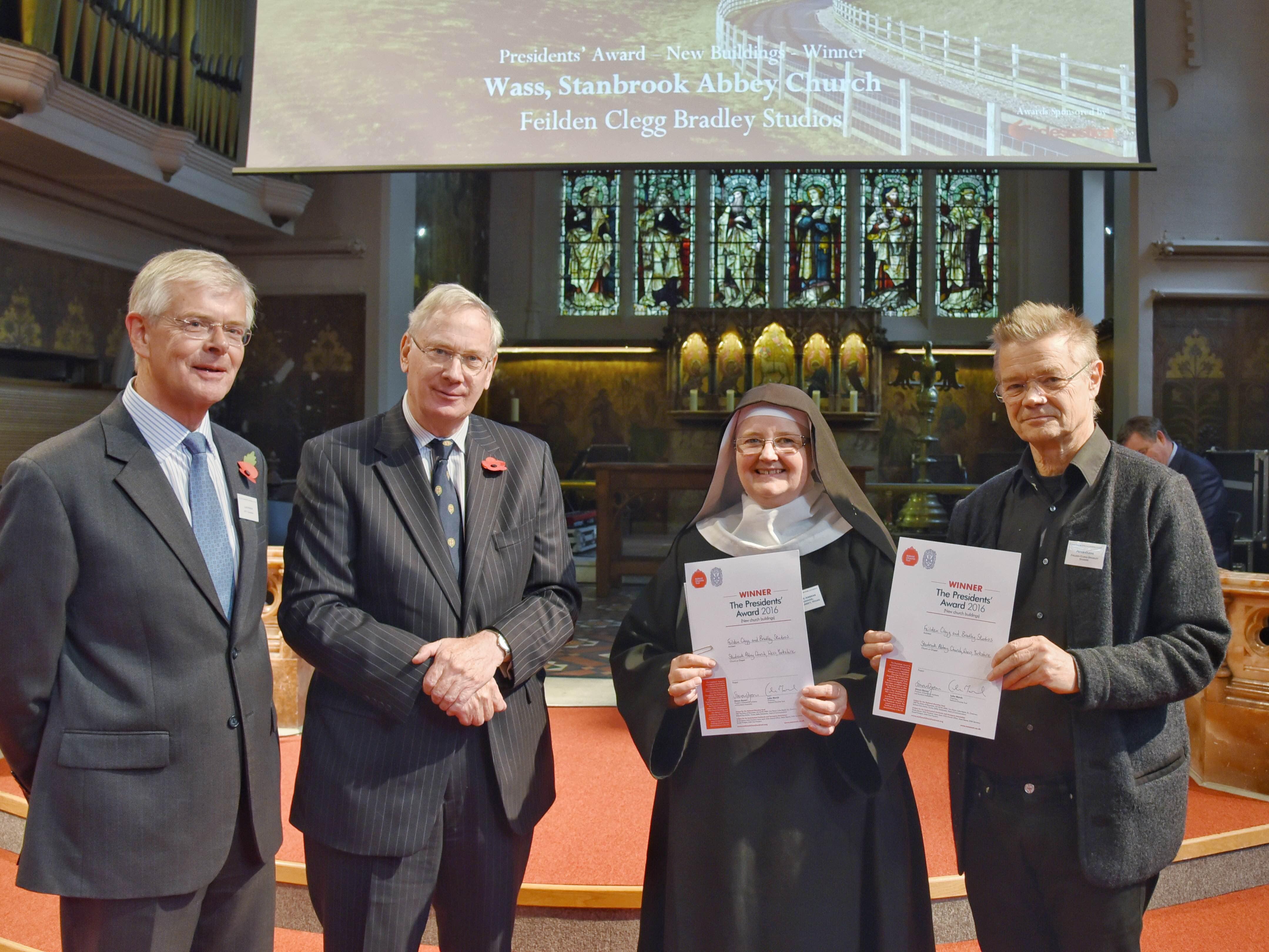 Winner of the 2016 Presidents' Award for new church buildings