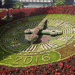 The Floral Clock - by L.