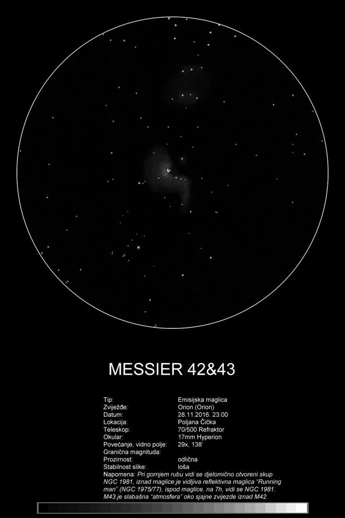 M42 70/500 refraktor