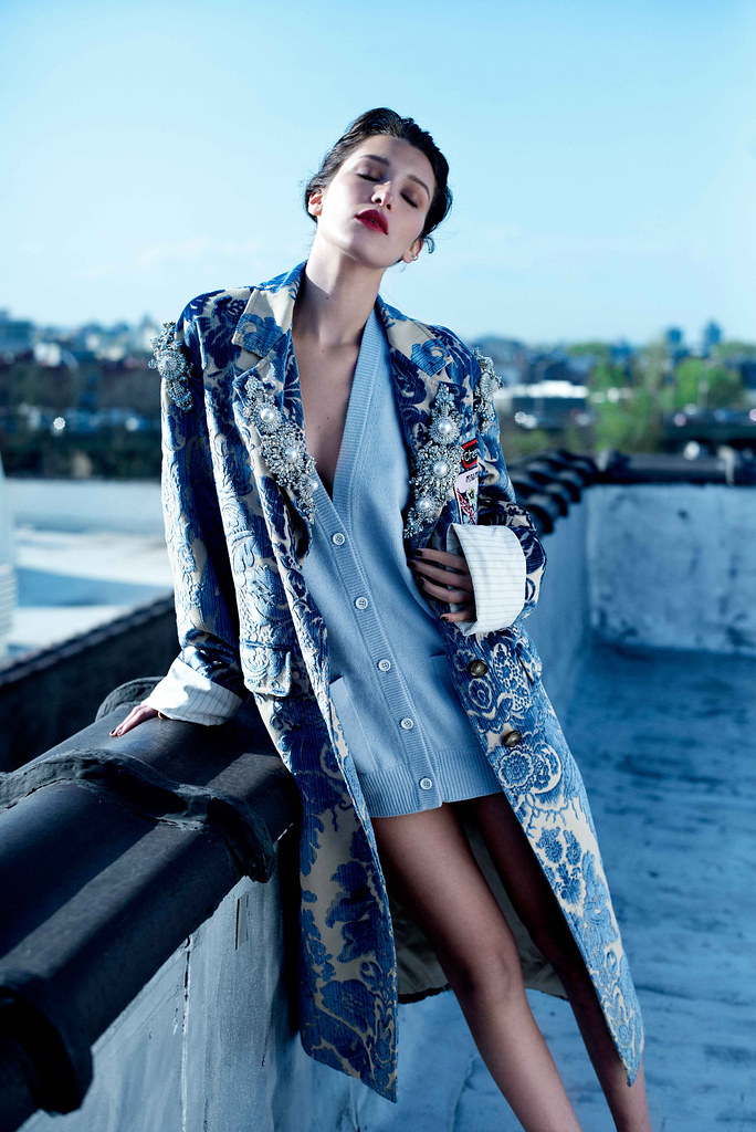 Белла Хадид — Фотосессия для «Harper's Bazaar» RU 2016 – 1