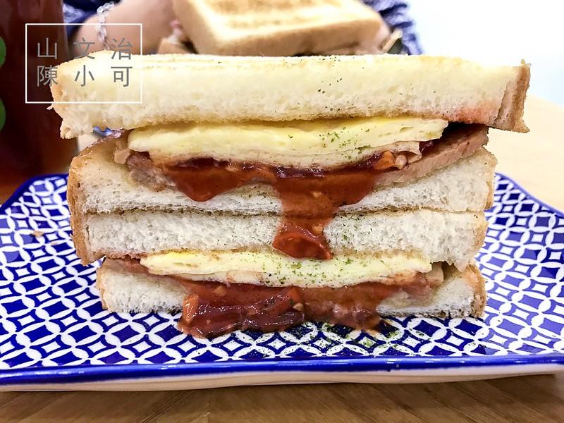 台北碳烤土司,山文治,西門碳烤土司 @陳小可的吃喝玩樂