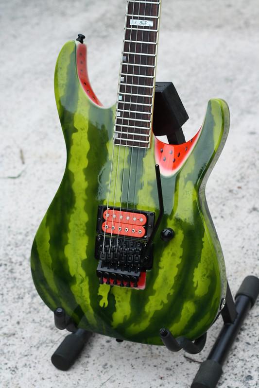 Watermelon Guitar