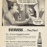 Mon, 2016-12-05 21:59 - A rather strange quarter-page ad for a sparkling water made by Pepsi-Cola called Evervess, that appeared in the December 16, 1946 Life magazine.