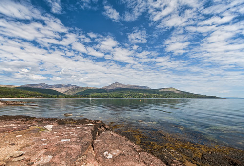 Goat Fell from Brodick Bay