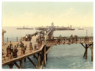 [The jetty, I., Margate, England]  (LOC)