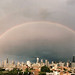 Double Rainbow over Chicago Skyline - June 17th, 2013