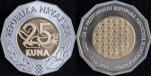Croatia 25 Kuna