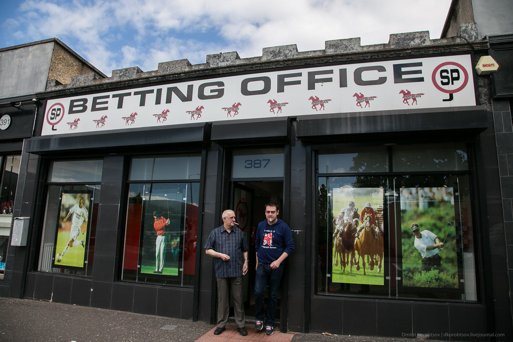 Betting Office, Shankill Road