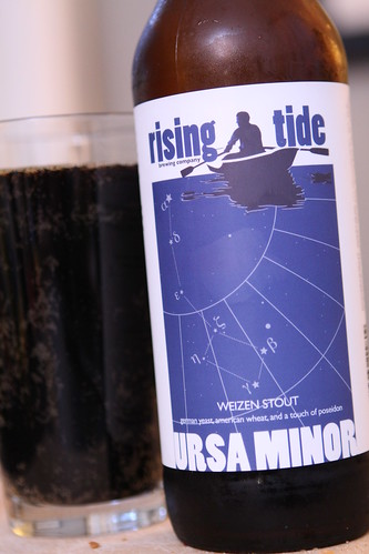 Rising Tide Brewery Ursa Minor Weizen Stout