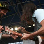 Closing out the main stage on Saturday. Photo by Laura Fedele