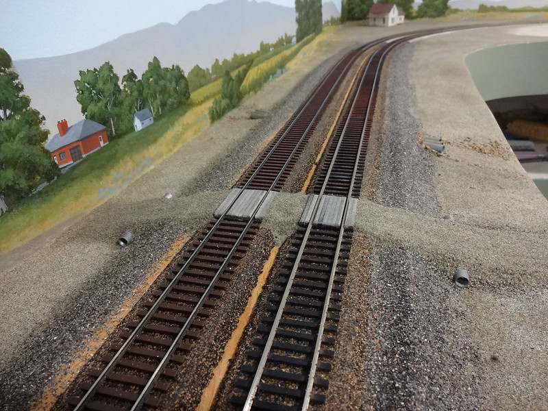 Making A Road Crossing Over Tracks Model Railroader