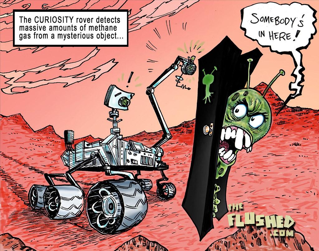 90 Mars Methane