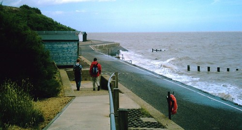 July walk 2009? northwards along the coast towards Walton on the Naze