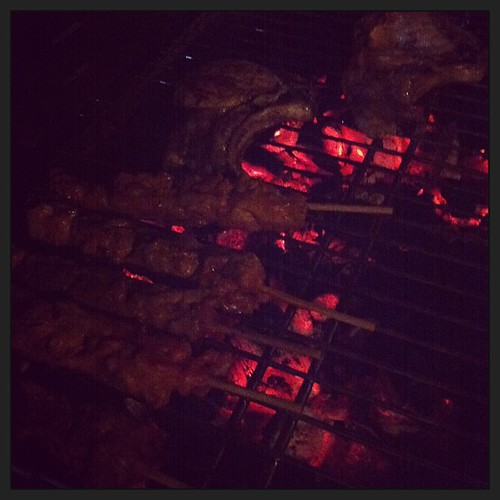 bienvenidos al infierno! #pinchitos #barbacue #mojitos