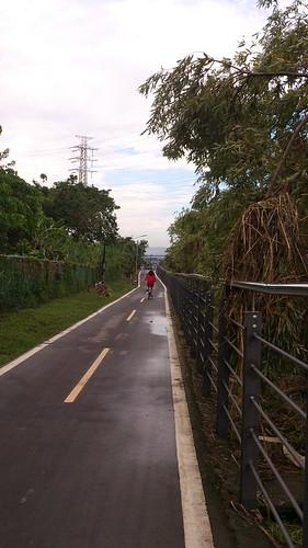 至福和橋的自行車道