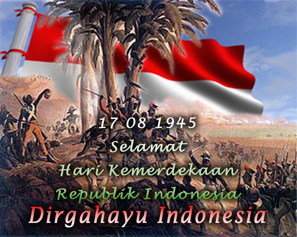 Wallpaper Hari Kemerdekaan - Dirgahayu Hut RI