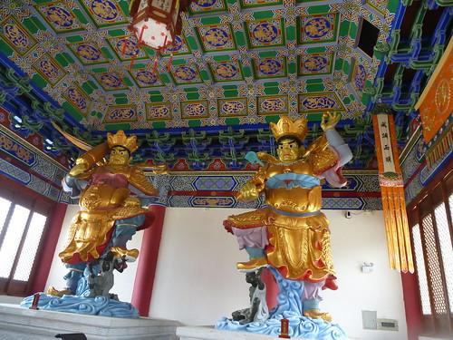 Yunnan13-Dali-5. Salle des Rois célestes (2)