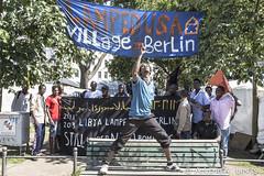 refugee camp berlin-oranienplatz