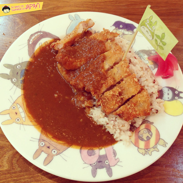 Ghibli Museum Mitaka, Japan - tototo katsu curry at Straw Hat Cafe