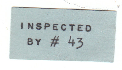Ken Wood Puzzle Collection Label
