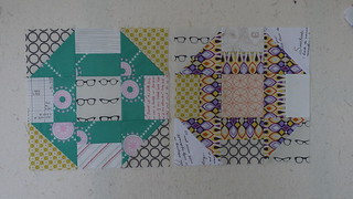 Sew Euro-bee-an blocks for Annabella