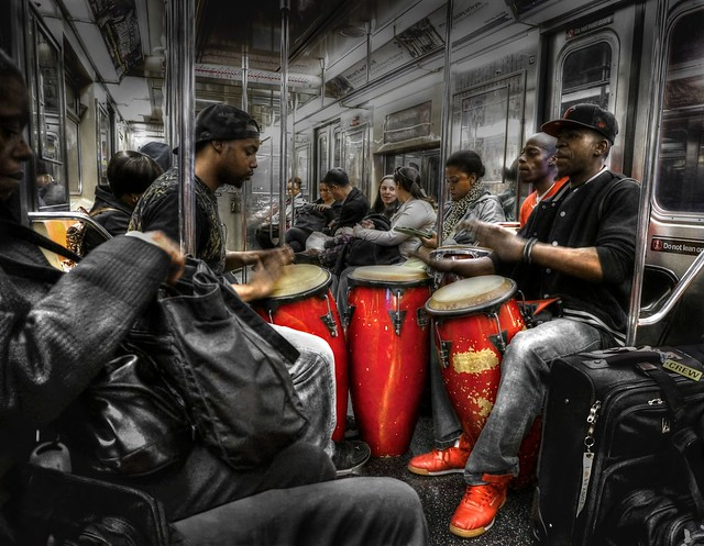 Jammin'in the subway