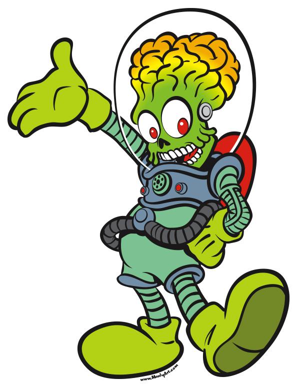 Mickey Martian!