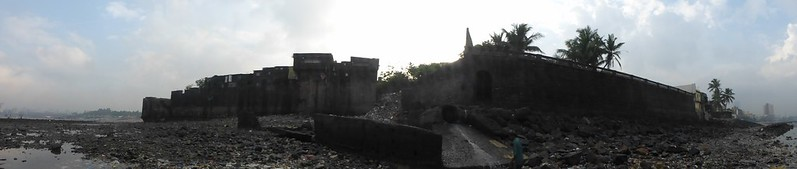Mahim Fort - panoramic view