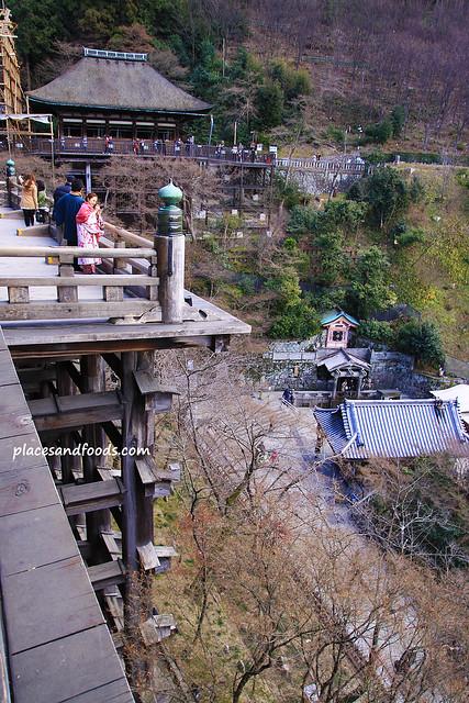 Kiyomizudera (清水寺)Temple platform picture