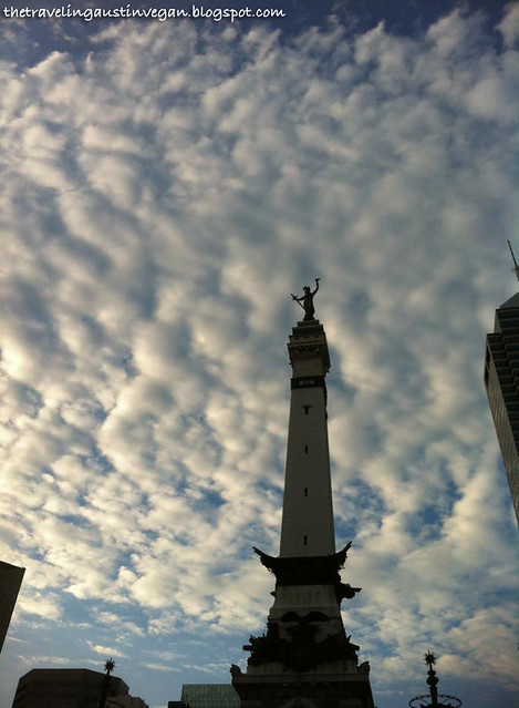 Tower & Clouds - Indianapolis, IN