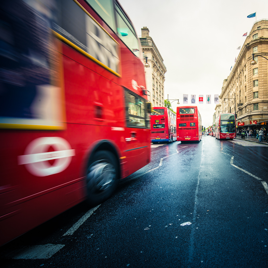 London's double-decker buses