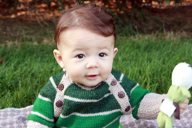 Javi baby sweater pattern