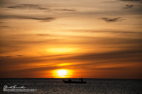 Sunset - Sri Lanka by CharithMania
