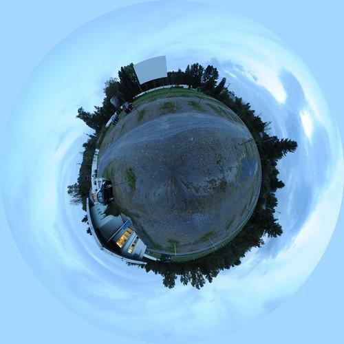 Jericho Drive-In Polar Panorama