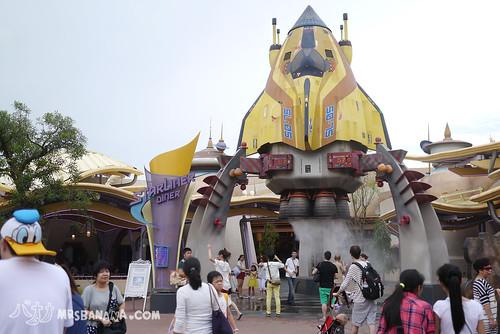 09迪士尼晚餐廣場飯點 (2)