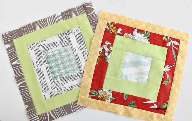Simply Modern Christmas Scrappy Block