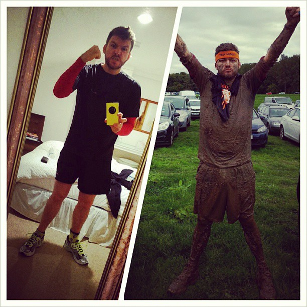 Tough Mudder. Before & After. Winner.