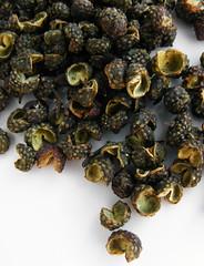 Groene szechuan-peper