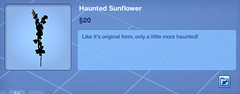 Haunted Sunflower