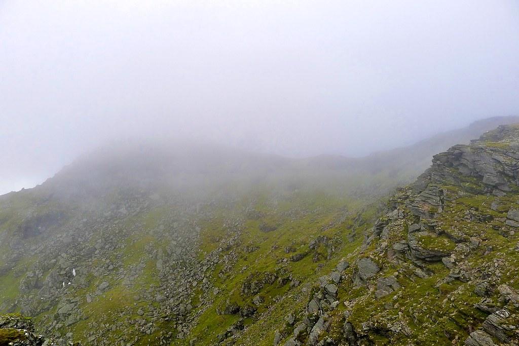 Clag obscuring Beinn Dorain's summit
