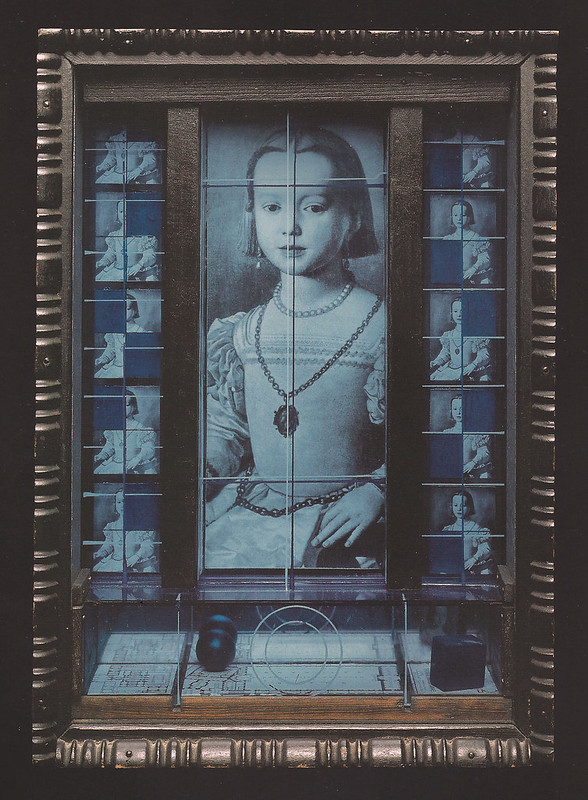 Joseph Cornell, Untitled (Medici Princess), c. 1952-1954