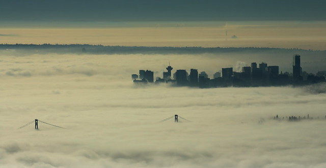 Fog in Vancouver
