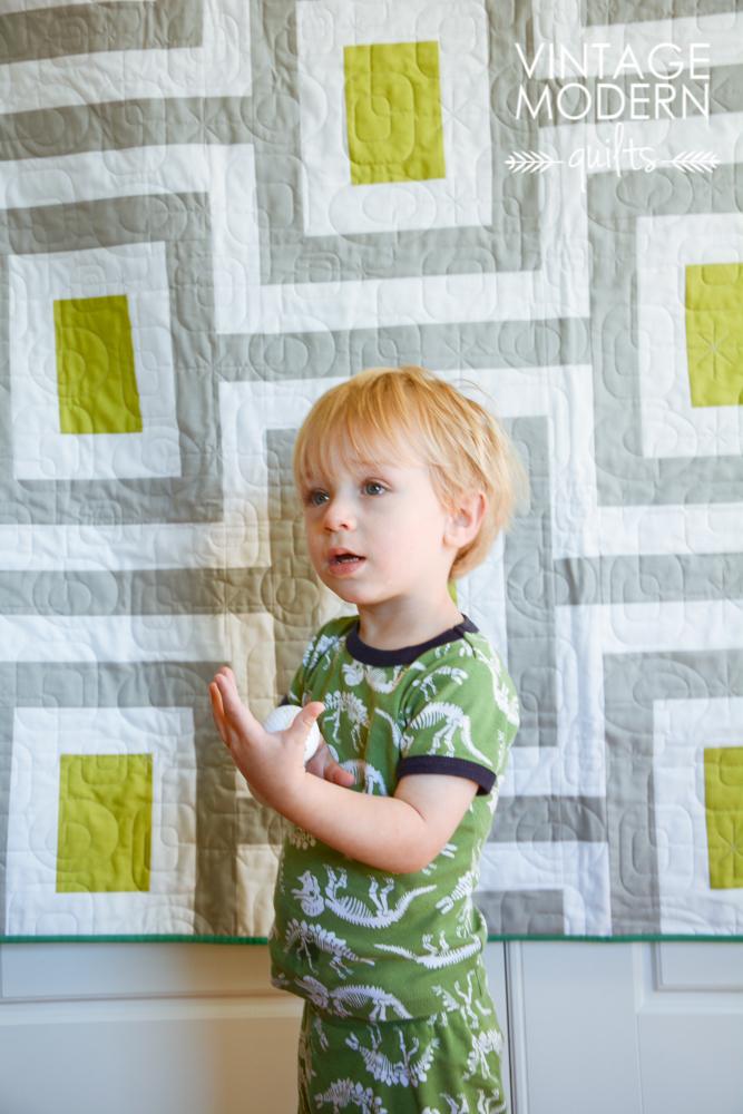 Midcentury Quilt pattern