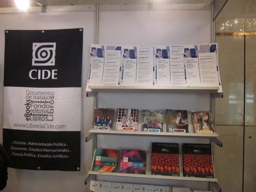 Stand del CIDE en el CLAD 2013 Montevideo (Uruguay)