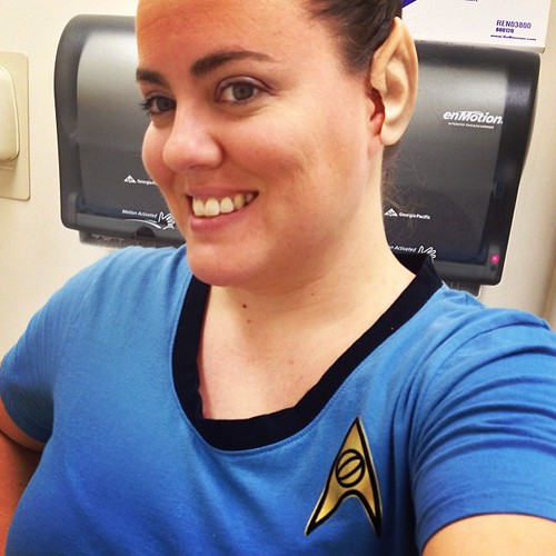 Live long and love your pointy ears. #startrek #trekkie #science