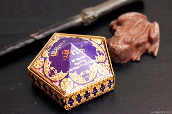 real chocolate frog